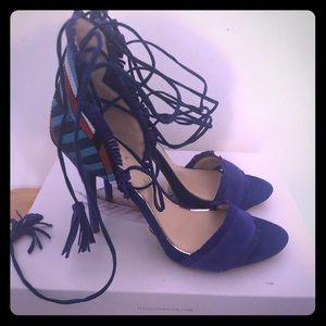 Jessica Simpson's Cobalt Blue High Heels